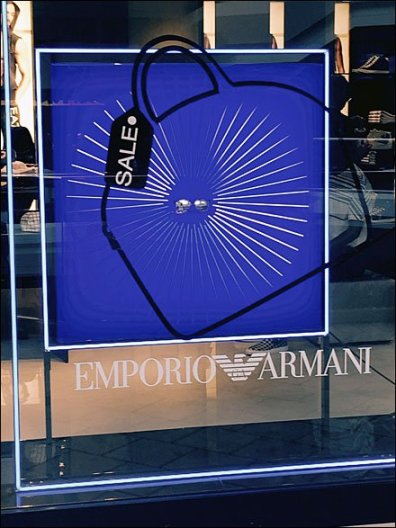 Emporio Armani Sale On Sale Window 2